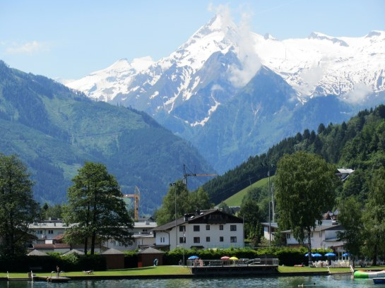 VIEW OF GROSSKLOCKNER  FROM ZELL AM SEE