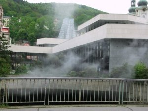 Steaming SPRUDEL Spring