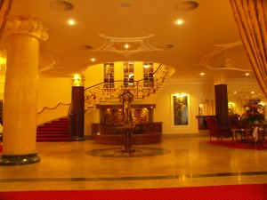 THE LOBBY OF KARLSBAD HOTEL