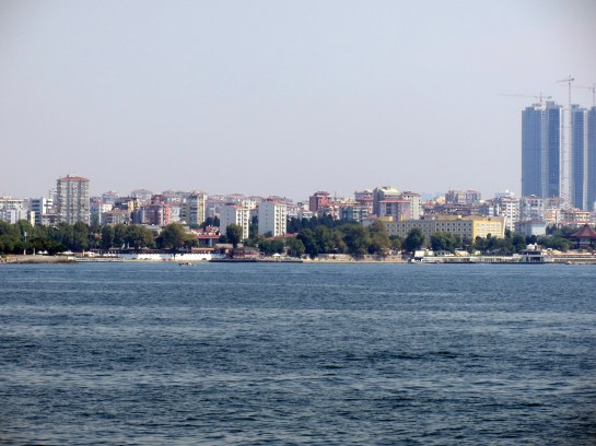 ISTANBUL FROM THE BOAT TO THE ISLANDS