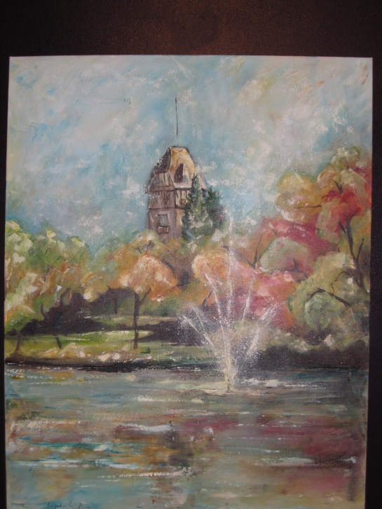 PHOTO OF A PAINTING IN THE CONSERVATORY