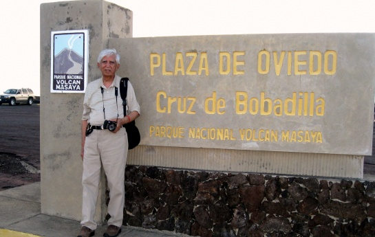 MASAYA VOLCANO WARNNG BOARD, NICARAGUA