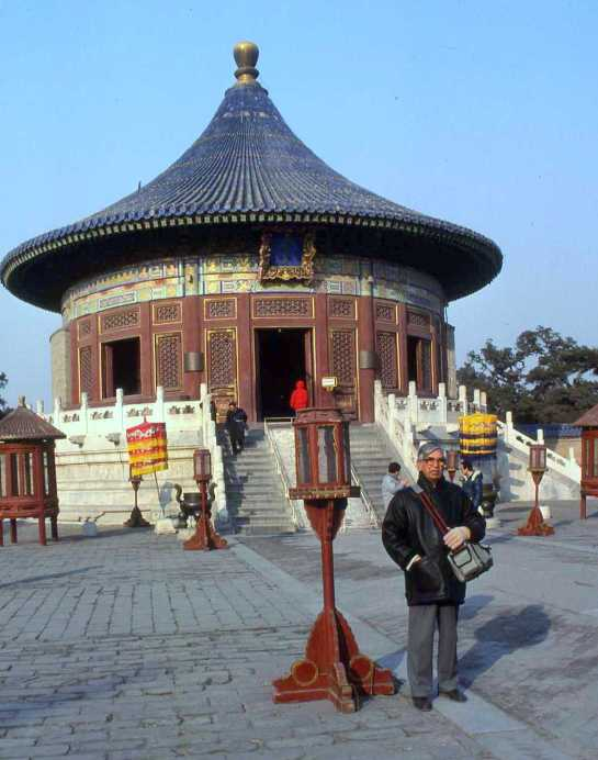 HEAVENLY TEMPLE IN BEIJING