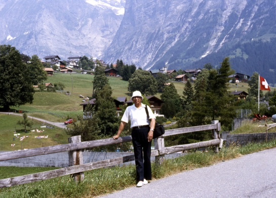 MEMORIES OF SWITZERLAND 1986