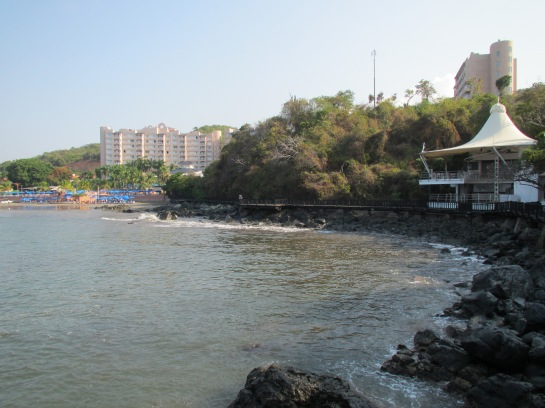 BOARDWALK TO THE AZUL IXTAPA BEACH RESORT