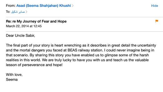 REVIEW BY SEEMA SHAHJAHAN