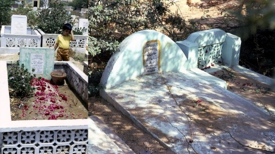 MY MOTHER AND GRANDMOTHER ARE BURRIED SIDE-BY-SIDE IN KARACHI
