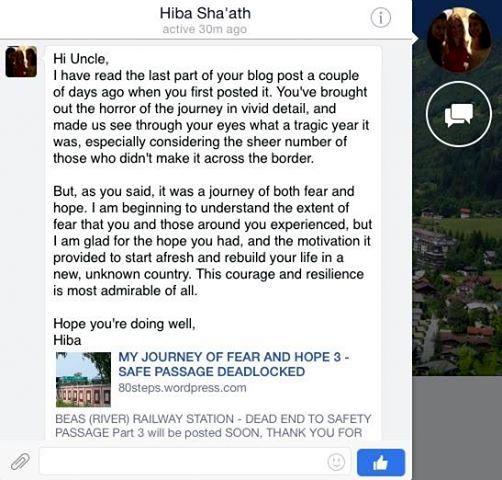 HIBA SHA'ATH WROTE