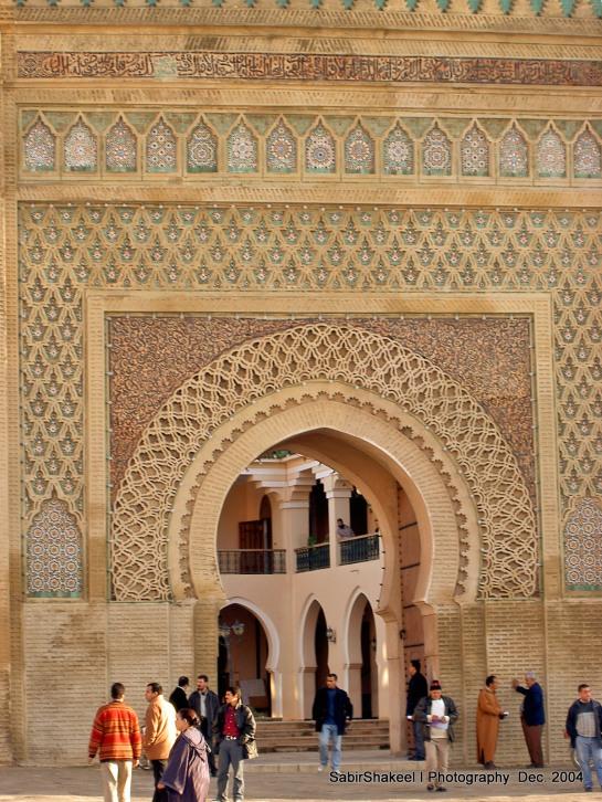 Morocco, Middle Atlas, Meknes: Hotel Transatlantique