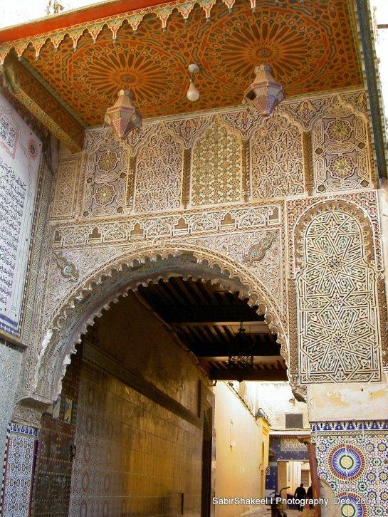 Morocco, Middle Atlas, Meknes: Fondouk ?