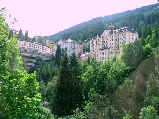 VIEW OF BAD GASTEIN