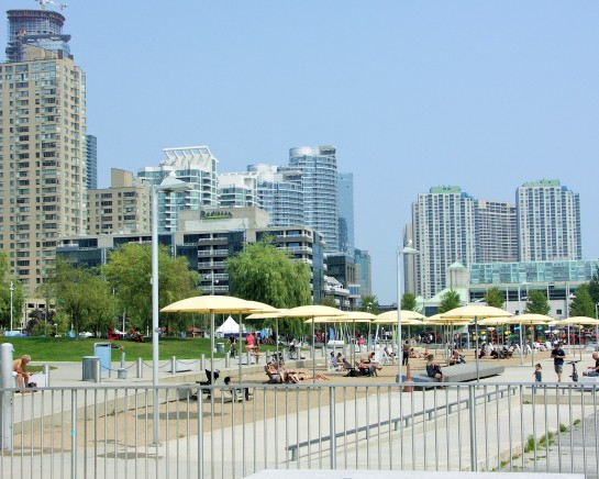 HTO WEST BEACH East of Spadina Ave. on Queens Quay West