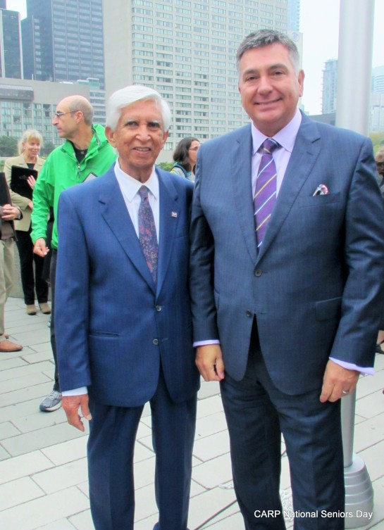 CARP NATIONAL SENIORS DAY 2014 with Hon. Min. Charles Sousa