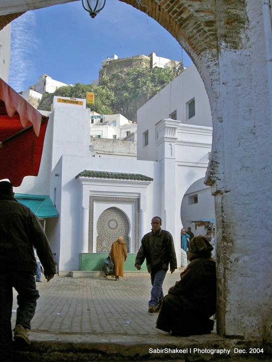 Morocco, Moulay Idris: Neighborhood view