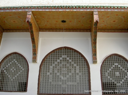 Morocco, Moulay Idris: Side view of the Shrine